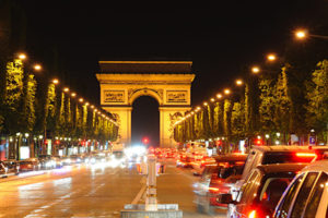 Crystal Limousine Paris By Night